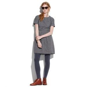 Madewell Grey Striped Songbird Dress - 0/2
